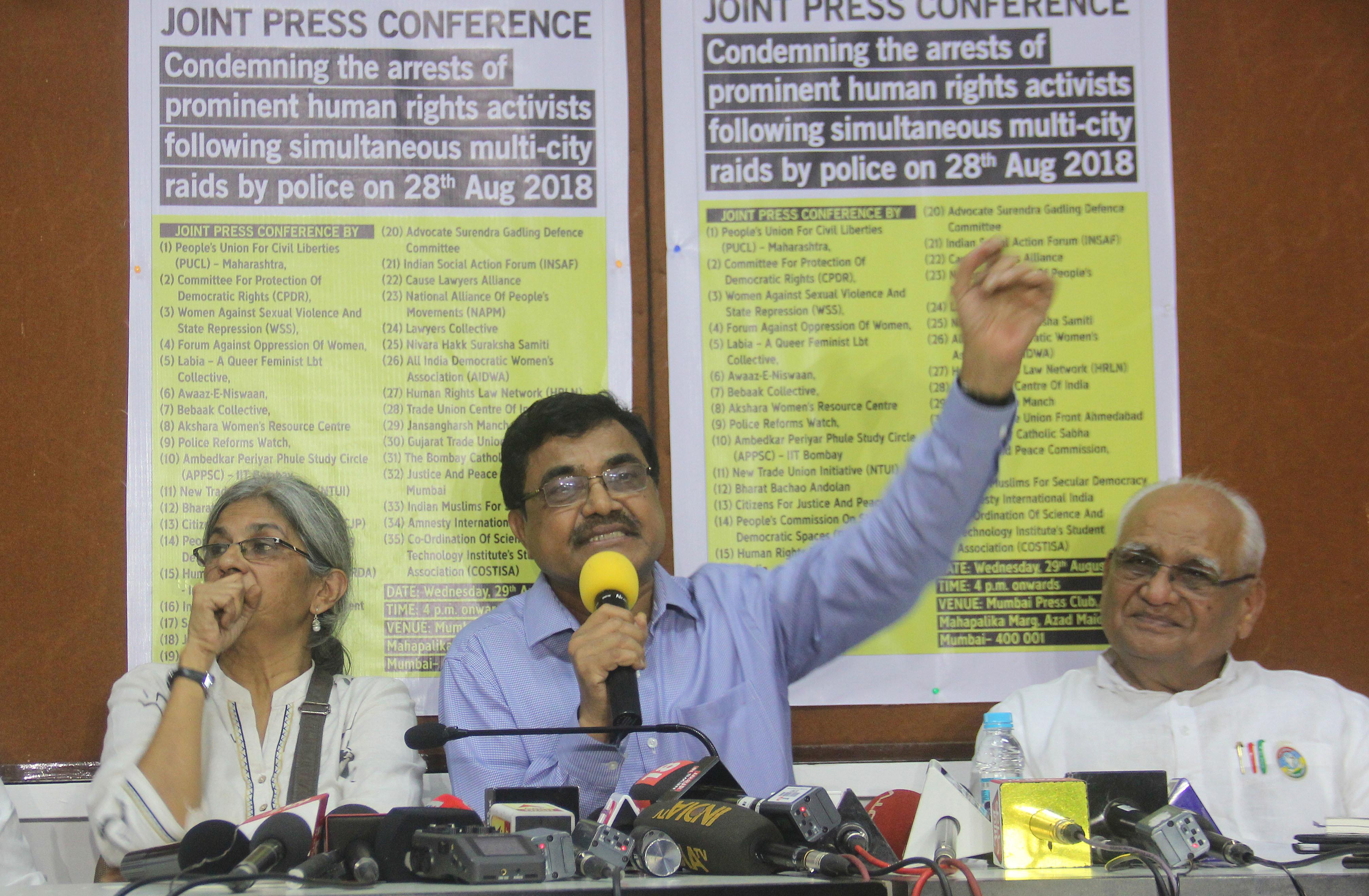 Bhima Koregaon: SC Refuses To Quash FIR Against Activist Anand