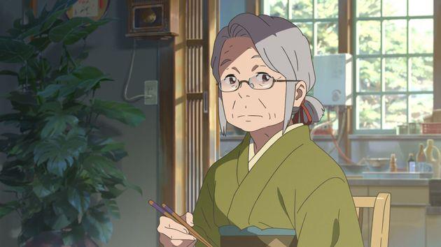 '너의 이름은' 미츠하 할머니의 목소리 연기한 이치하라 에츠코가 세상을