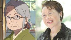 '너의 이름은' 미츠하 할머니의 목소리 배우가 세상을