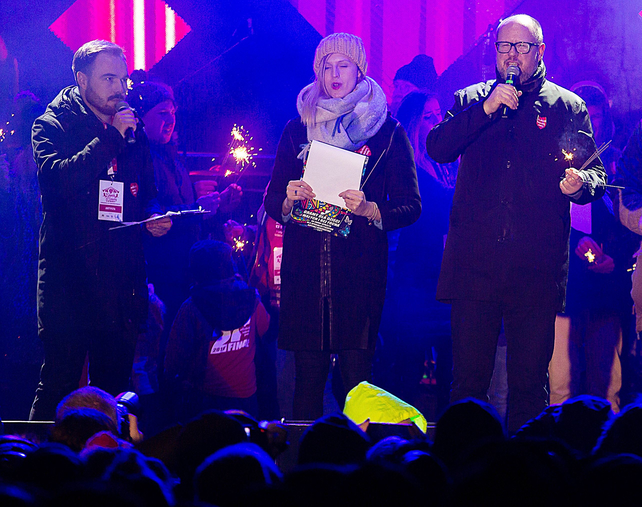 Polish Mayor In 'Very Serious Condition' After Being Stabbed On Stage At Charity