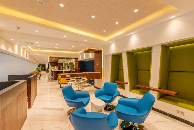 Le salon Pearl Lounge de l'Aéroport International de Rabat-Salé, inauguré...