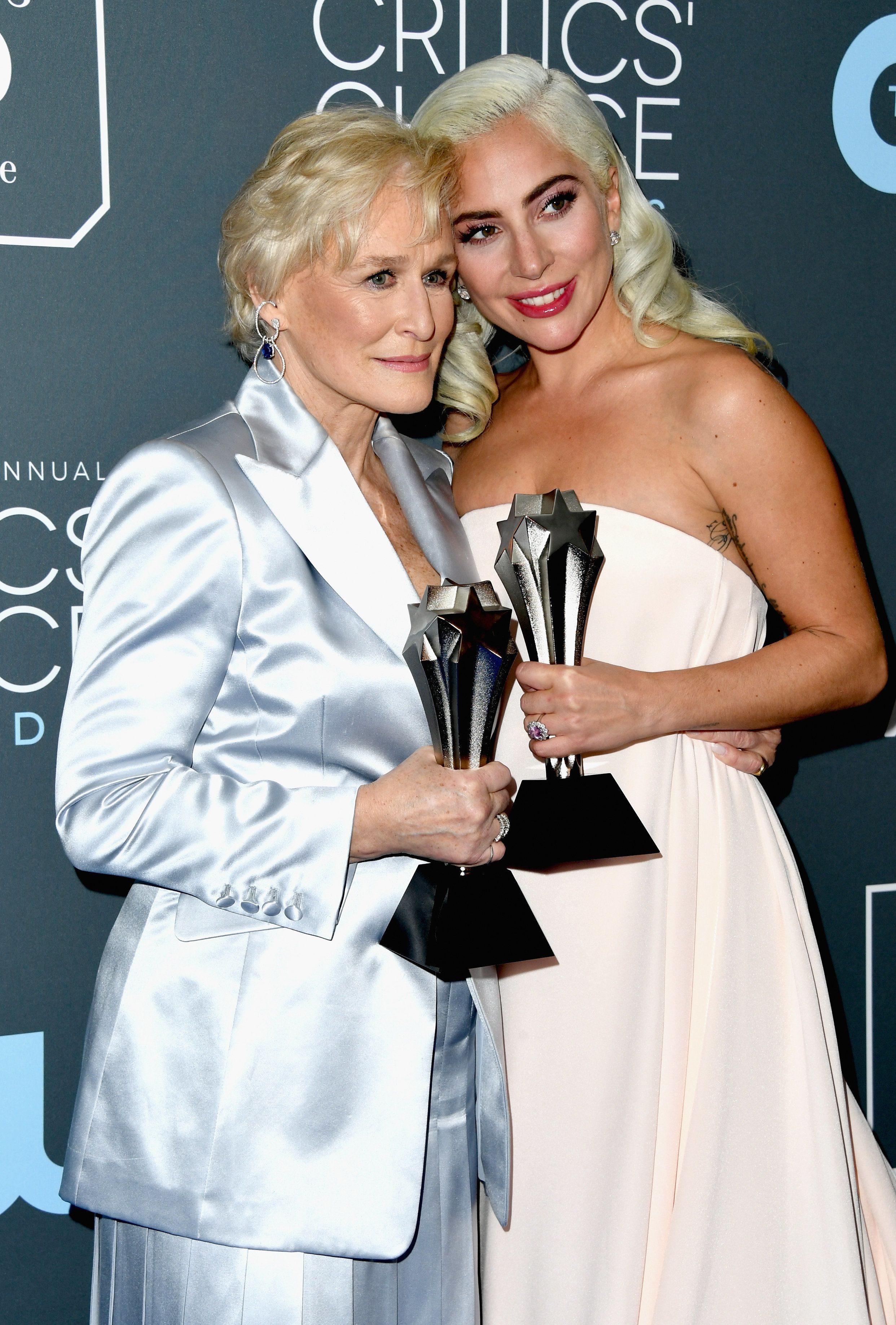 Lady Gaga And Glenn Close Tie For Best Actress Prize At Critics' Choice