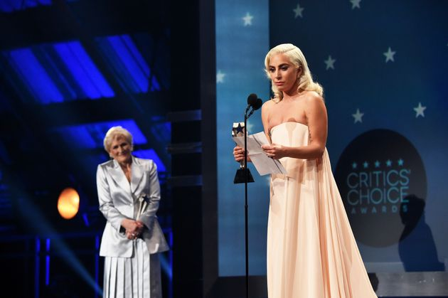 Lady Gaga paid tribute to co-star Bradley Cooper in her