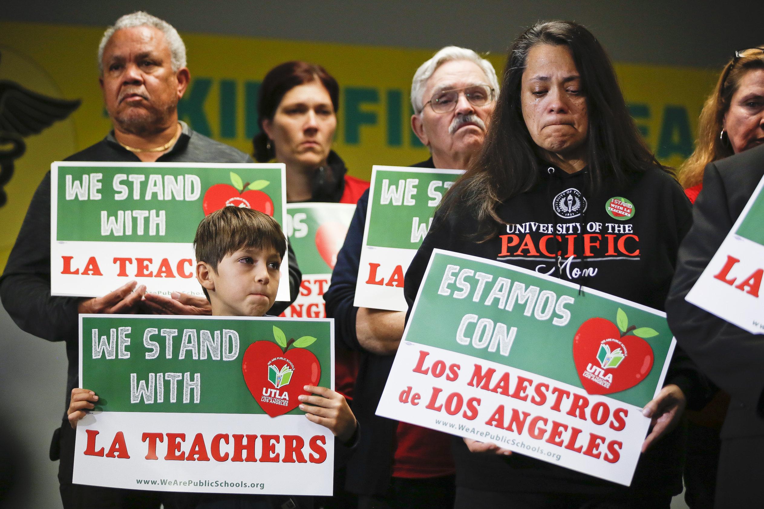 ΗΠΑ: Κάνουν απεργία οι εκπαιδευτικοί μετά από 30