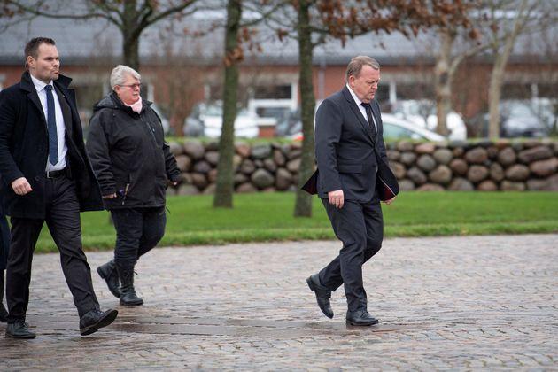 Lars Løkke Rasmussen, Premier ministre danois, était ul'ne des personnes présentes...