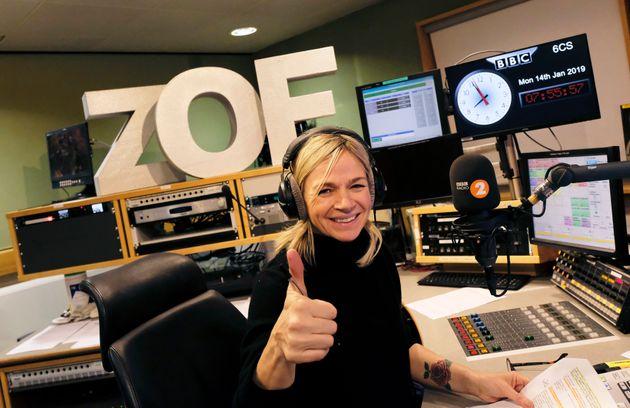 Zoe Ball took over the Radio 2 Breakfast Show in