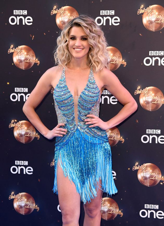 Ashley Roberts at the 'Strictly' red carpet launch last