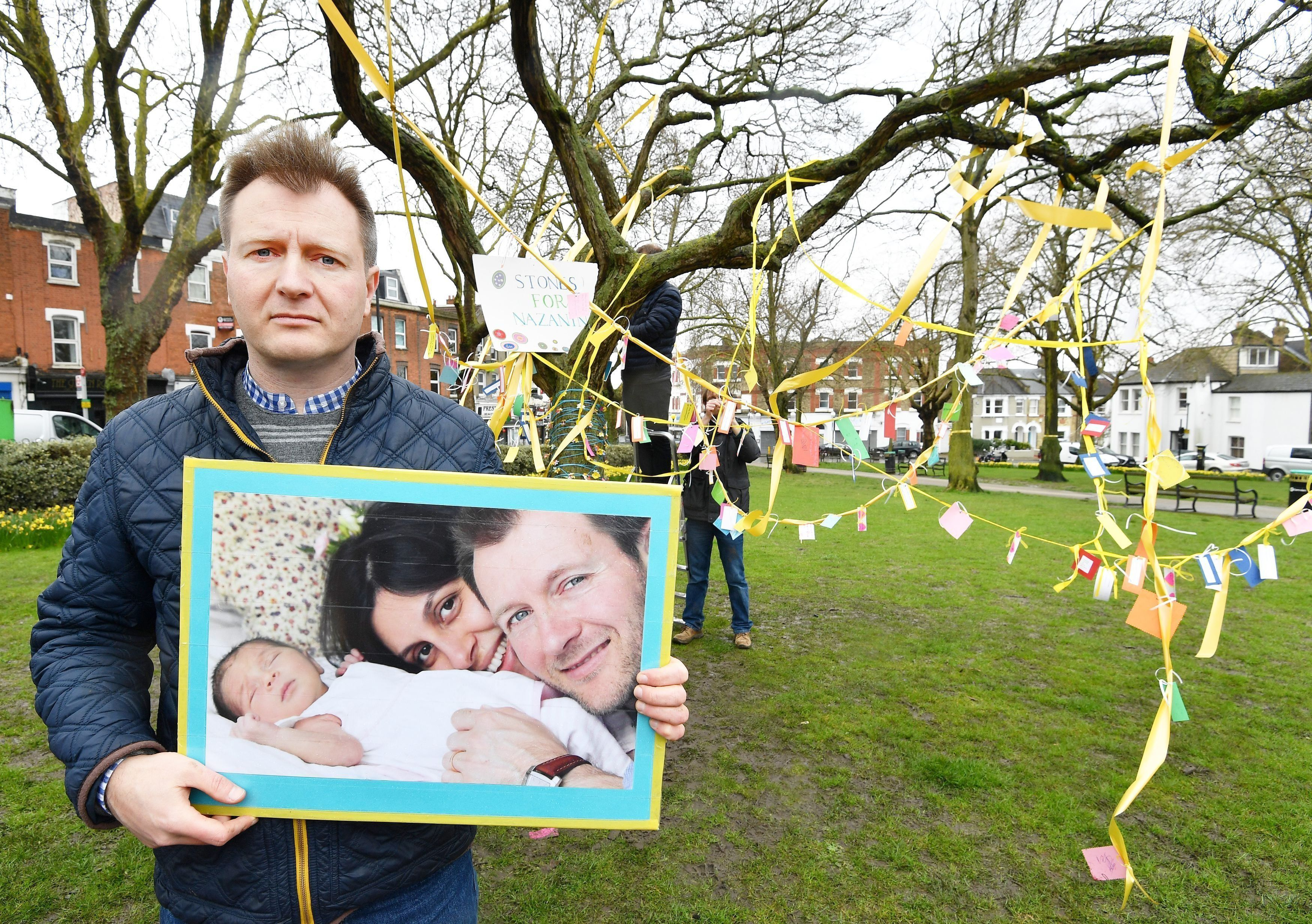 Nazanin 'Pressured To Spy On UK' By Iranian Interrogators, Husband