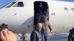 Cesare Battisti chega a Roma, onde ficará isolado em