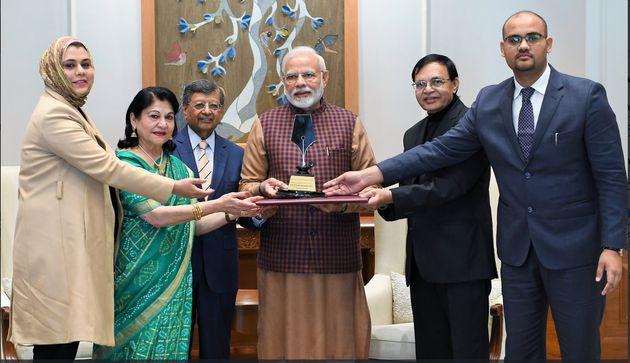 Narendra Modi Wins Philip Kotler Award For 'Visionary