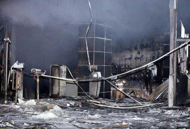 화재 발생한 천안 라마다앙코르 호텔에서 직원 1명이