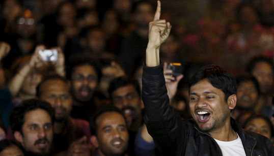 Former JNU Students 'Thank' Modi Government For Charging Them With