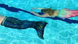 'Mermaiding Classes' Cause A Splash In