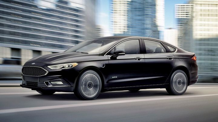 The 2018 Ford Fusion Energi