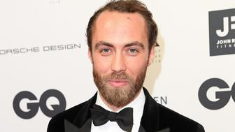 BERLIN, GERMANY - NOVEMBER 08:  James Middleton arrives for the 20th GQ Men of the Year Award at Komische Oper on November 8, 2018 in Berlin, Germany.  (Photo by Matthias Nareyek/Getty Images for GQ Germany)
