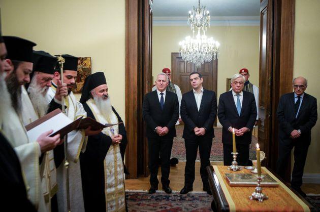 Ορκίστηκε ο νέος υπουργός Άμυνας, Ευάγγελος