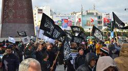 8ème anniversaire de la révolution: À l'avenue Bourguiba, le parti Ettahrir appelle à l'instauration du