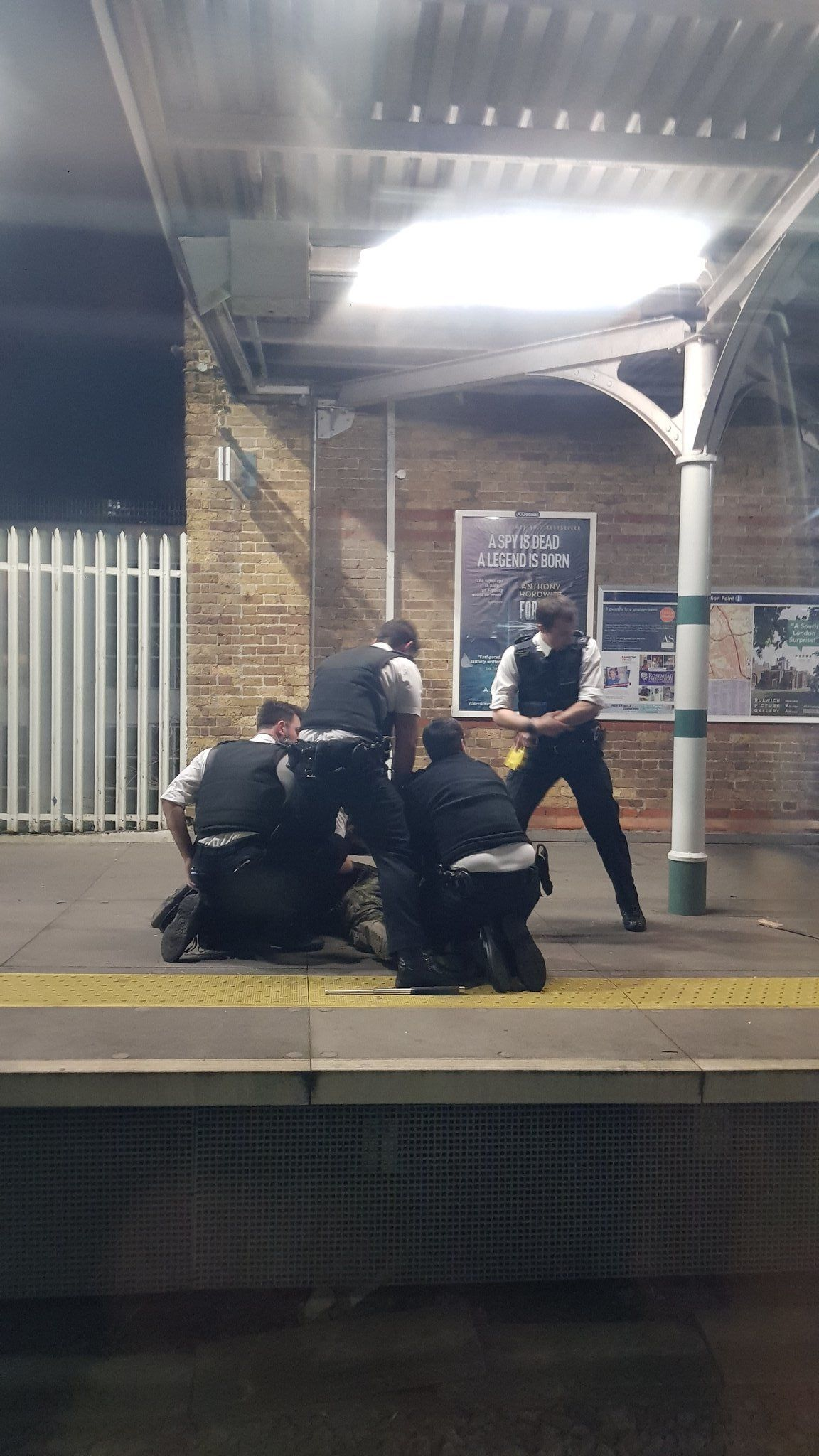 Man Arrested On Suspicion Of Attempted Murder At South London Train