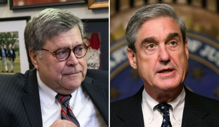 William Barr (left), Trump's nominee for attorney general, sent a 19-page memo to Deputy AG Rod Rosenstein in June objecting