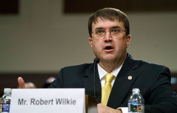"VA Secretary Robert Wilkie accused the union of ""stereotyping"" veterans as emotionally fragile"