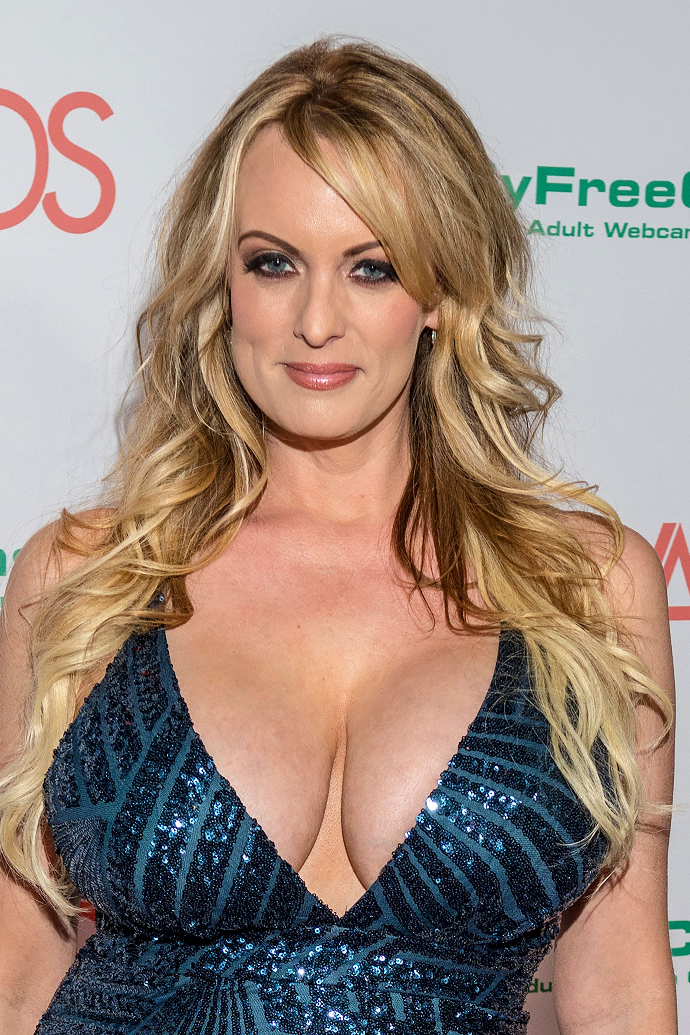 LAS VEGAS, NV - JANUARY 27: Stormy Daniels at the AVN Awards at the Hard Rock Hotel & Casino in Las Vegas, Nevada on January 27, 2018. Credit: Damairs Carter/MediaPunch /IPX