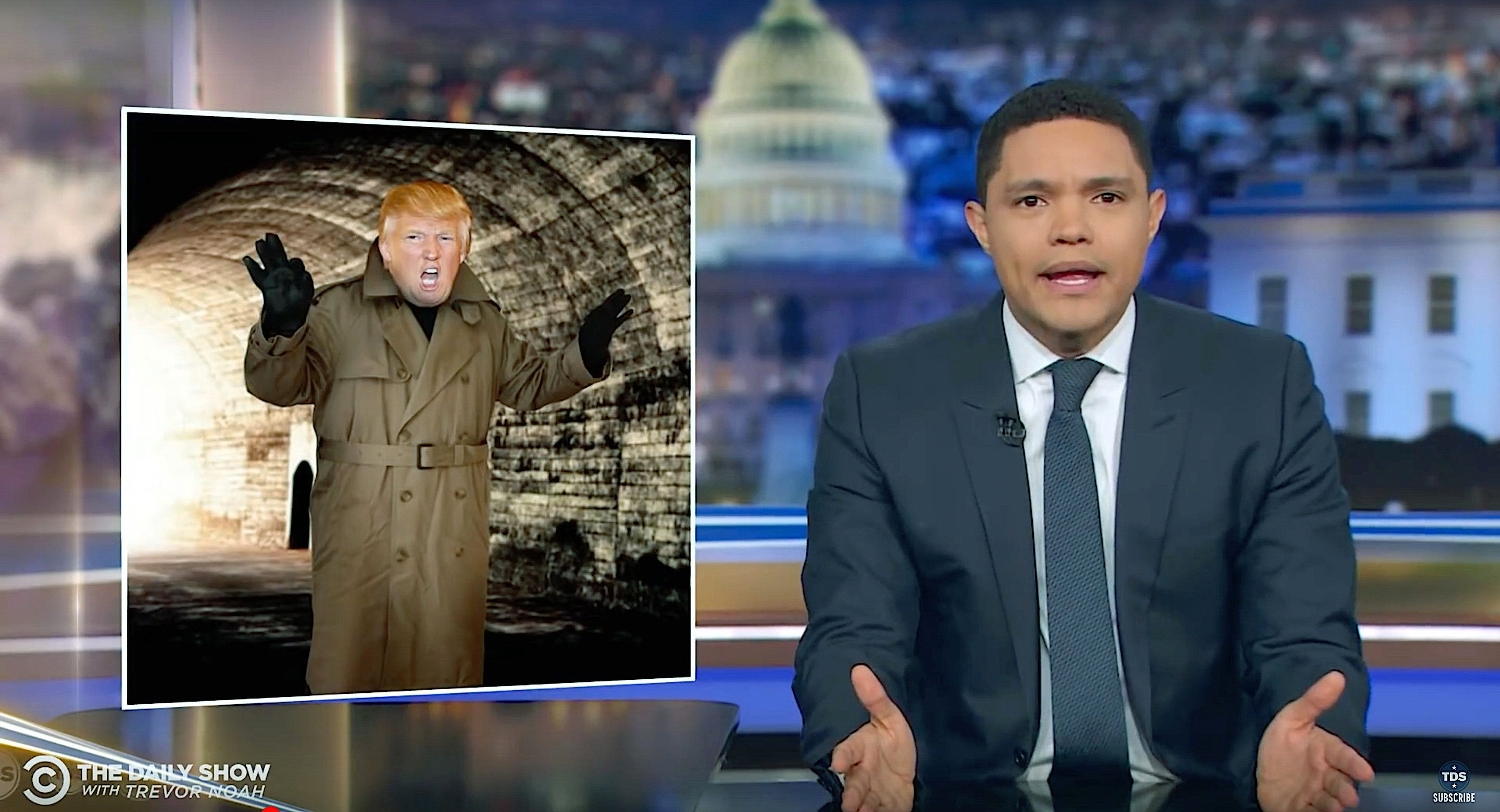Trevor Noah Breaks Down Why The Idea Of Trump Being A Russian Spy Is