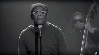 "Samuel L. Jackson poetry slams the news on ""The Tonight Show."""