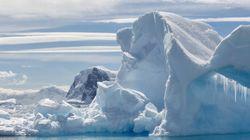 La glace de l'Antarctique fond plus vite que