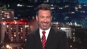 President Donald Trump may be frustrated by recent bad press looming over his administration, but Jimmy Kimmel showed him no sympathy in his latest comedic routine.