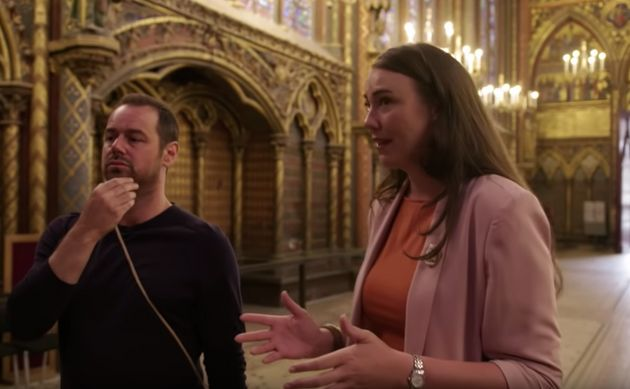 Danny and Dr Emily visit King Louis' personal