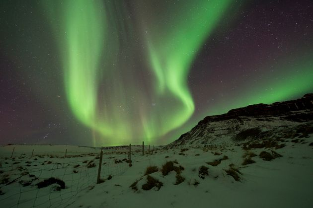 The remote region on the edge of the Arctic Circle is one of the best places in the world to spot the...