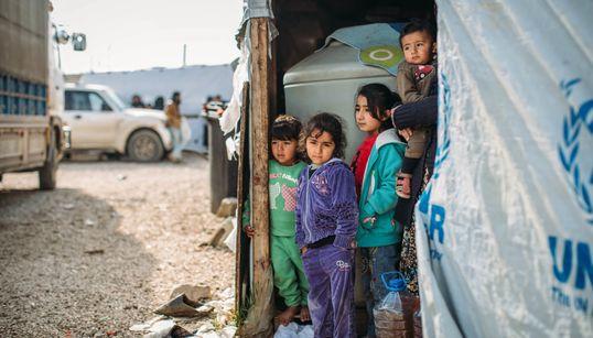 Conflit en Syrie: 15 enfants déplacés sont morts en raison du froid
