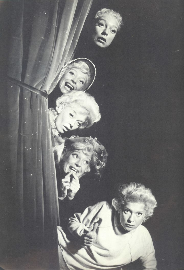 "A promo still from ""The Carol Channing Show."""