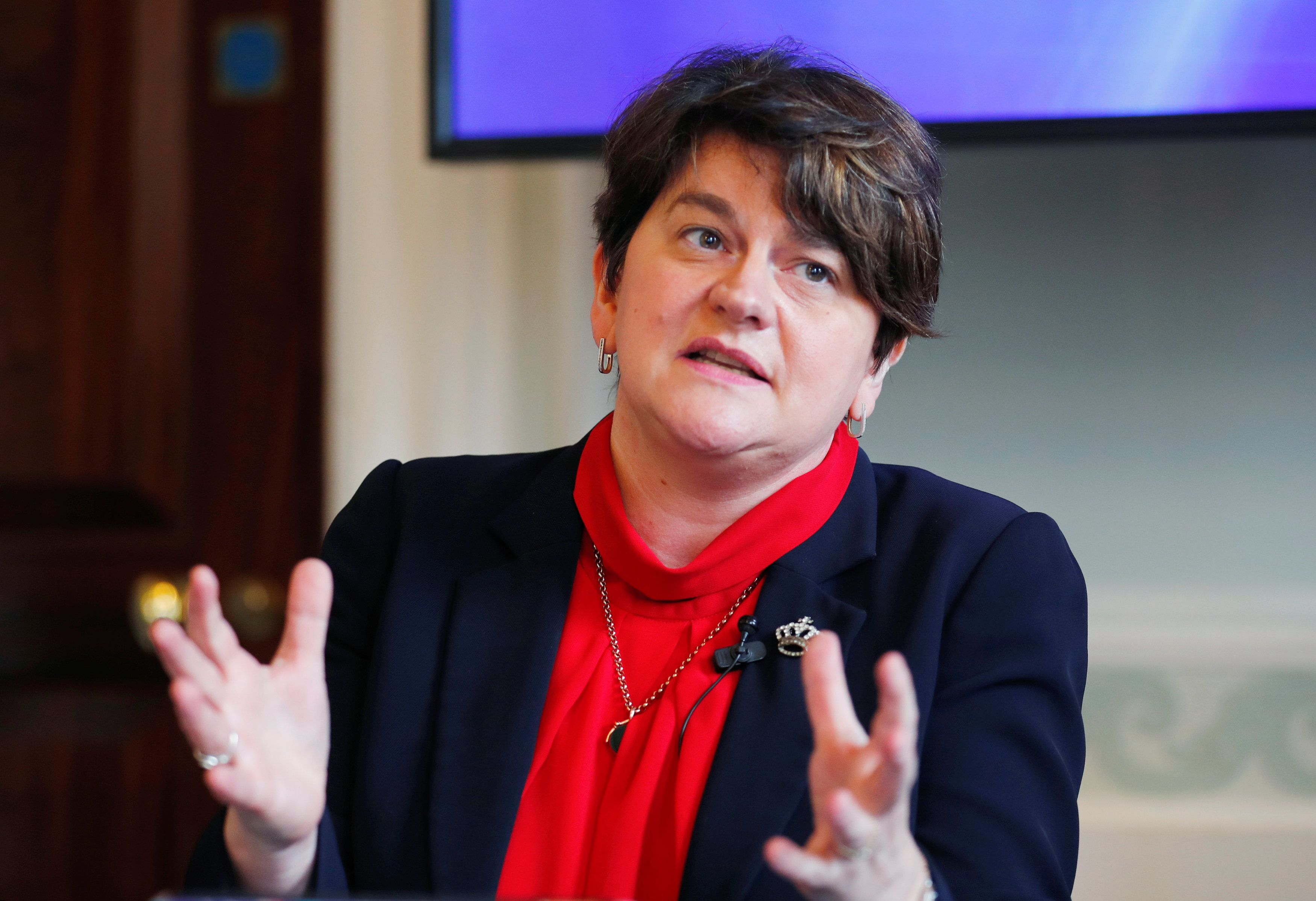 Theresa May 'Did Not Even Ask Brussels To Scrap The Backstop', Arlene Foster