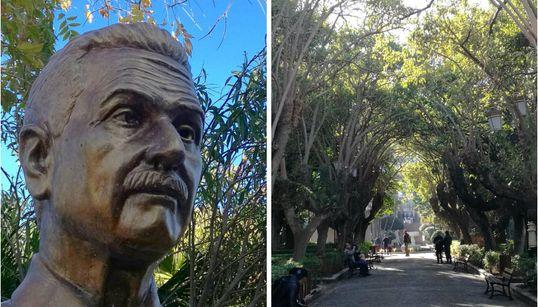 """Le jardin """"Prague"""" de Bab El Oued rebaptisé au nom du cheikh Amar"""