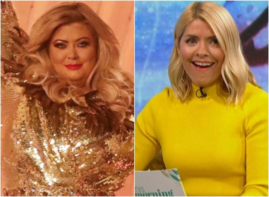 Gemma Collins and Holly
