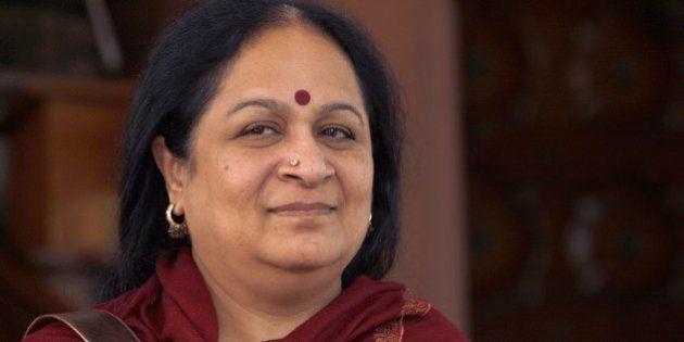 NEW DELHI, INDIA - DECEMBER 8: Congress leader Jayanthi Natarajan at Parliament House in New Delhi on...