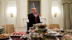 'Photoshop Battle' Breaks Out Over Trump's Fast-Food Banquet For