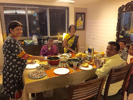 My Mother Invited Our Domestic Help's Family To Diwali Dinner And Started A
