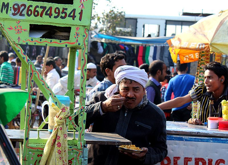PHOTOS: The Humdrum Speaks Volumes In Delhi's Walled