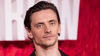Sergei Polunin poses for photographers upon arrival at the film 'Red Sparrow' in London, Monday, Feb. 19, 2018. (Photo by Vianney Le Caer/Invision/AP)