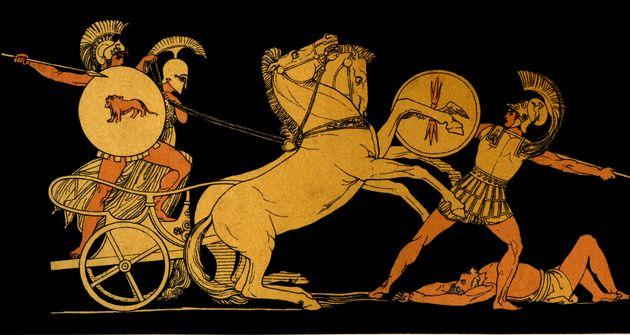 Ο Διομήδης επιτίθεται...