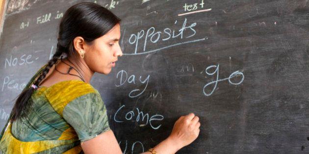 Sandipani Muni high school teacher, Vrindavan, Uttar Pradesh, India,