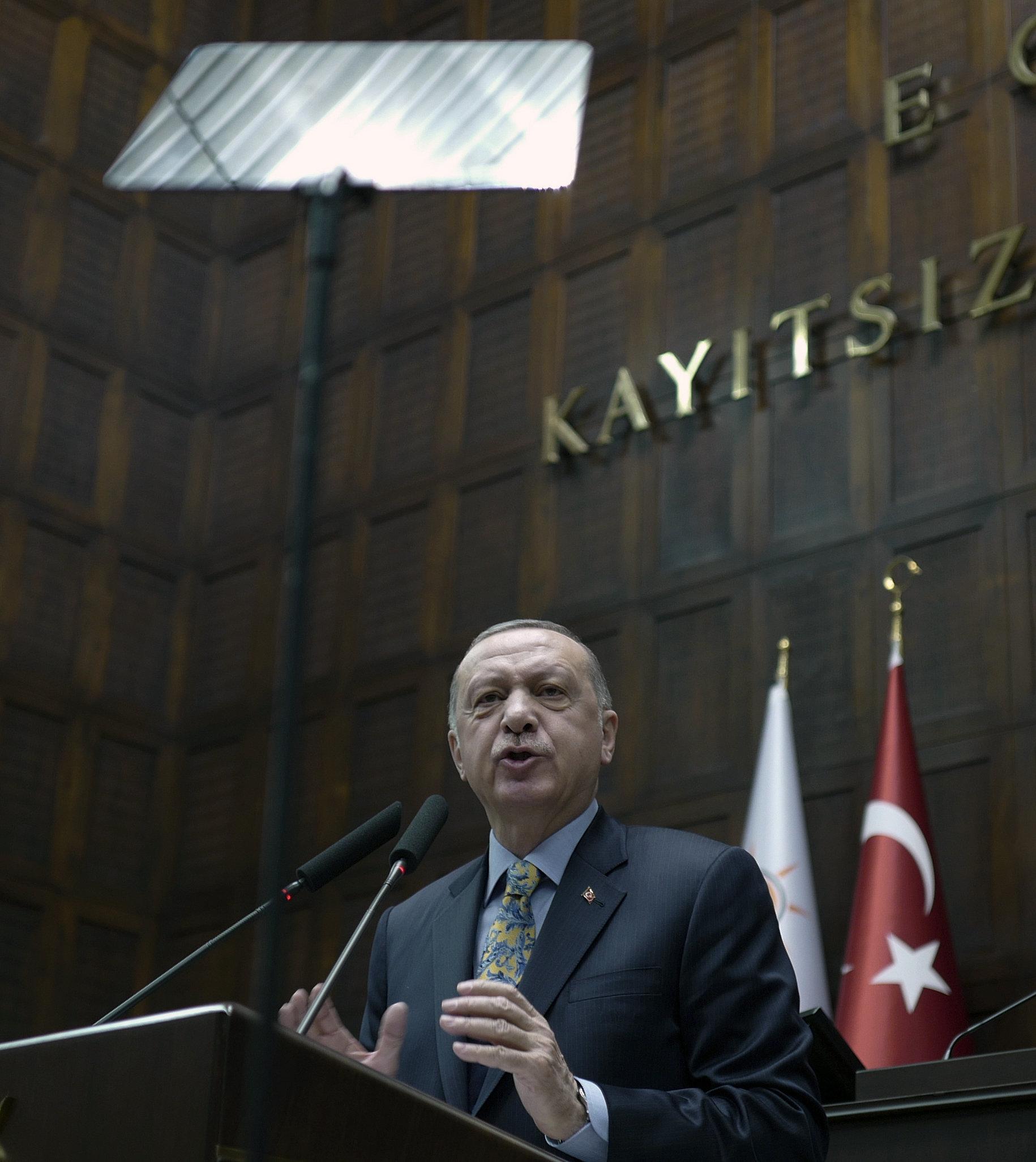 Ερντογάν: Η Τουρκία θα αναλάβει πρωτοβουλίες που θα εγγυηθούν την εδαφική ακεραιότητα της