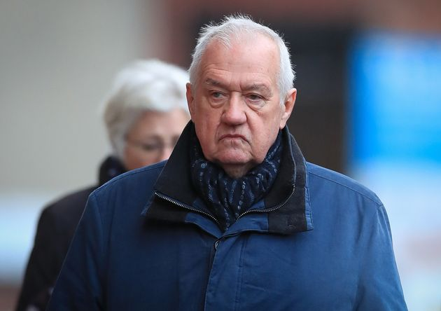 David Duckenfield outside of court on