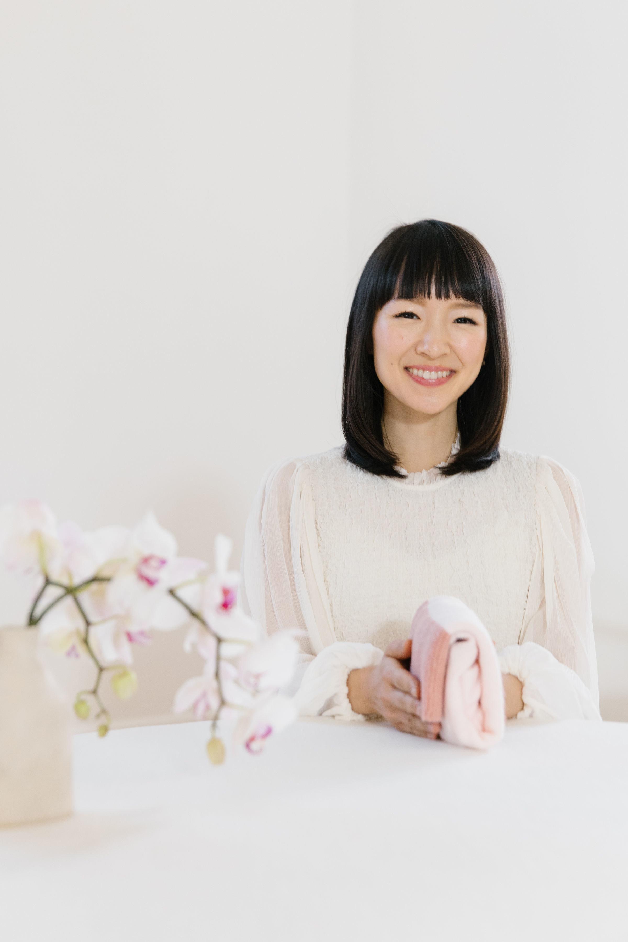 Marie Kondo smiling