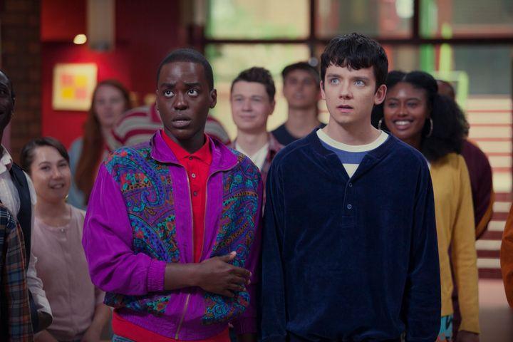 Ncuti Gatwa stars as Otis' best friend, Eric