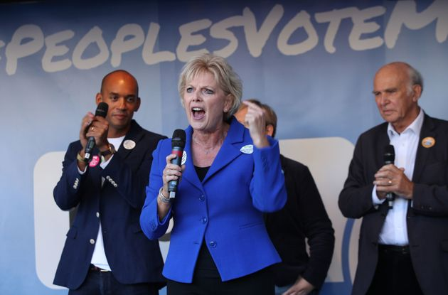 Tory Remainers such as Anna Soubry are demanding a second