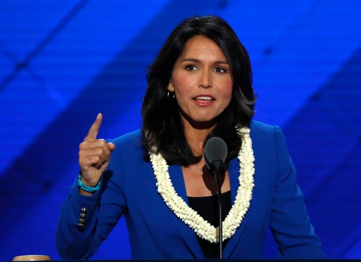 Rep. Tulsi Gabbard has recently signaled that her transformation on LGBTQ rights doesn't go very deep.
