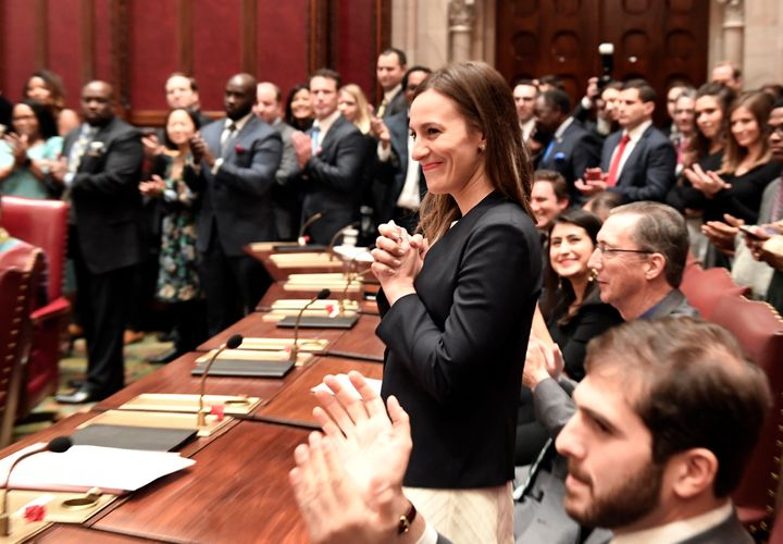 Freshman Sen. Alessandra Biaggi ousted Jeff Klein in the Bronx last November. Now, she'll chair the Senate Ethics committee,